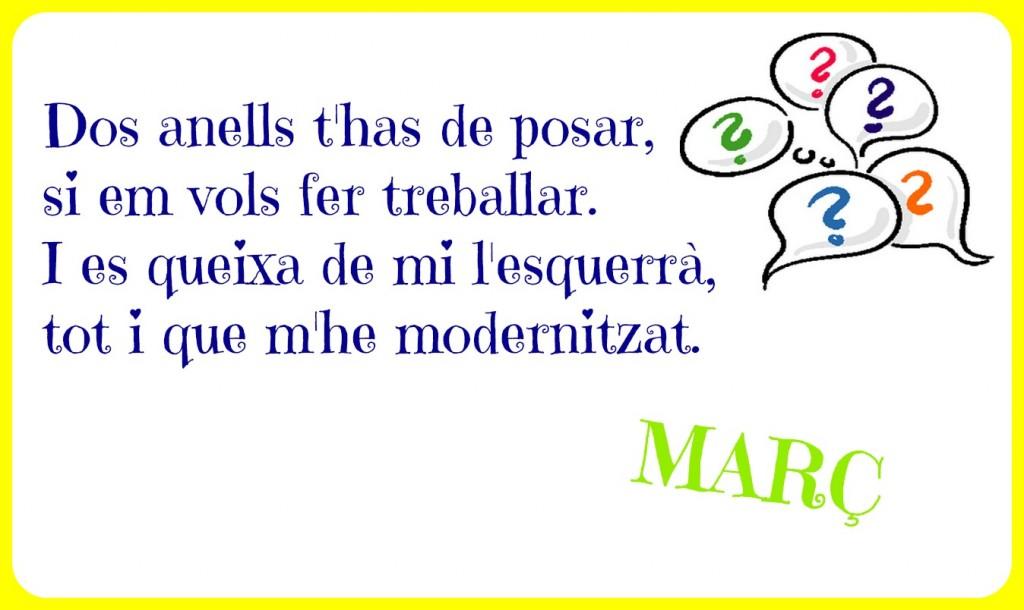 endevinalla març