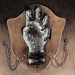 La mano disecada