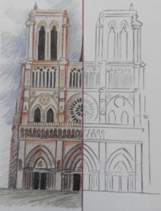 symmetrical cathedral