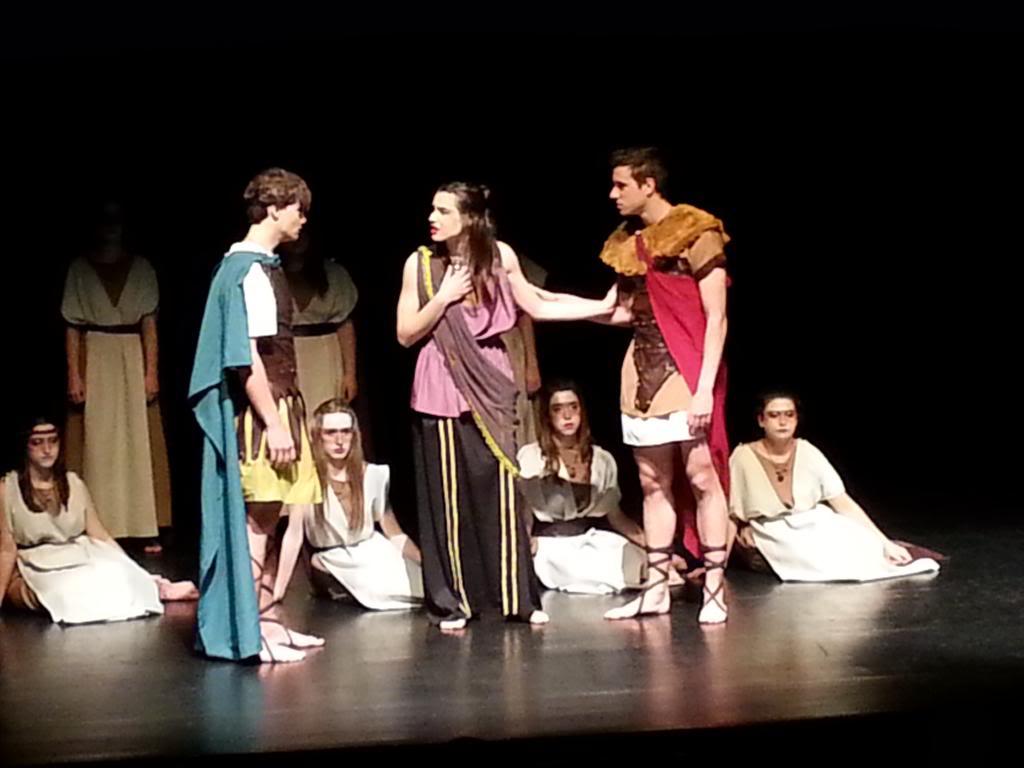 Hipsípila. Teatre Joventut Hospitalet de Llobregat març de 2014. Fotografia d'Elisa Moya
