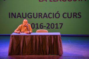 El Pare Manel inaugura el curs 2016-17 del CFA La Llagosta