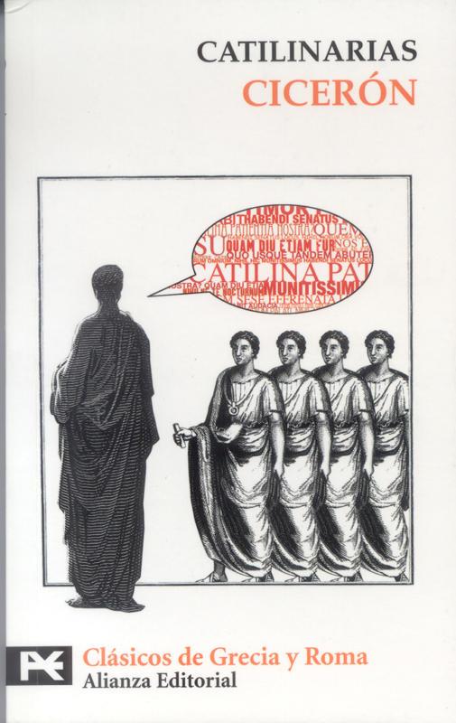 Obra de Ciceró. Les catilinaries.