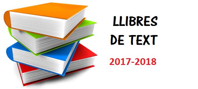 foto llibres 2017-2018