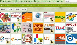 Recursos Digital per a la Biblioteca Escolar de Primària