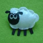 ovella feta amb feltre