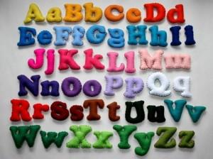 lletres de feltre per l'habitació