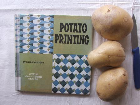 potato-printing