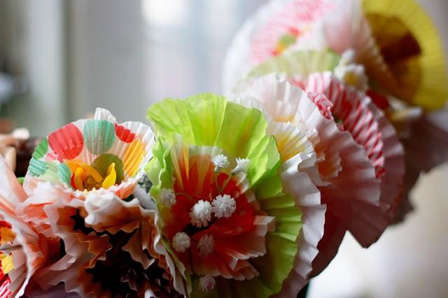 cupcake-liner-flowers