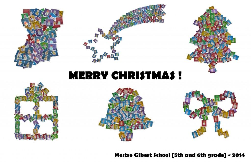 CHRISTMAS POSTCARD - 5th and 6th grade