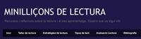 Mini lliçons de lectura de Beatriu Palau