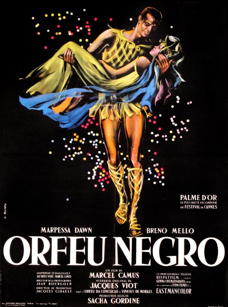 Portada de la pel.lícula ''Orfeu Negre''