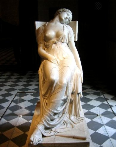 Lucrècia morta, de Damià Campeny