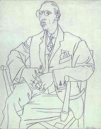 Picasso_Títol_Retrar Stravinsky