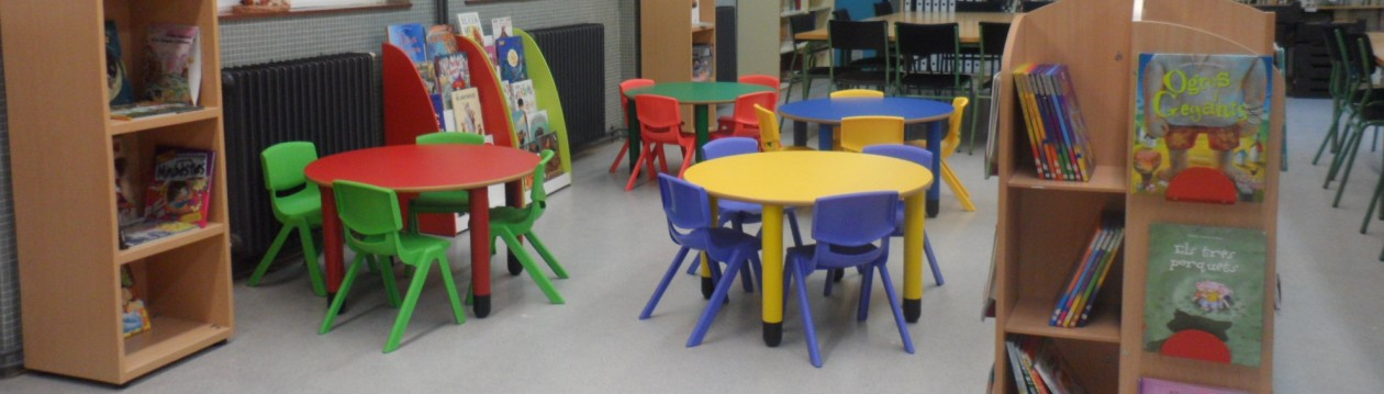 Biblioteca de l'escola Mossèn Jacint Verdaguer de Segur de Calafell