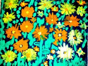 les flors del pati