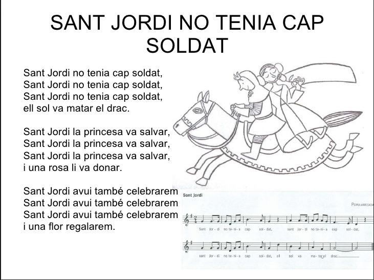 sant jordi no tenia cap soldat