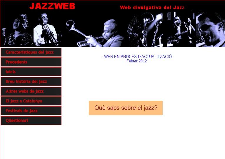 WEB HISTORIA DEL JAZZ
