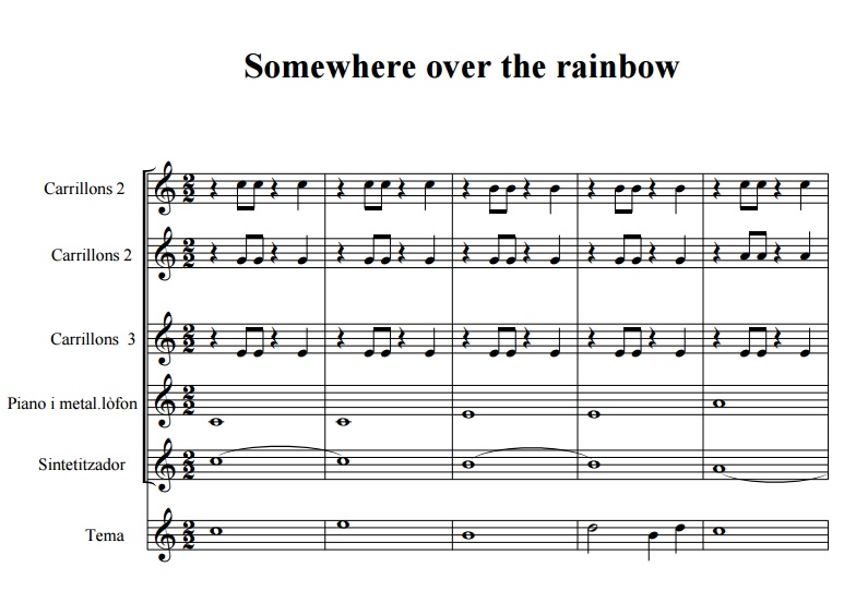 partitura some