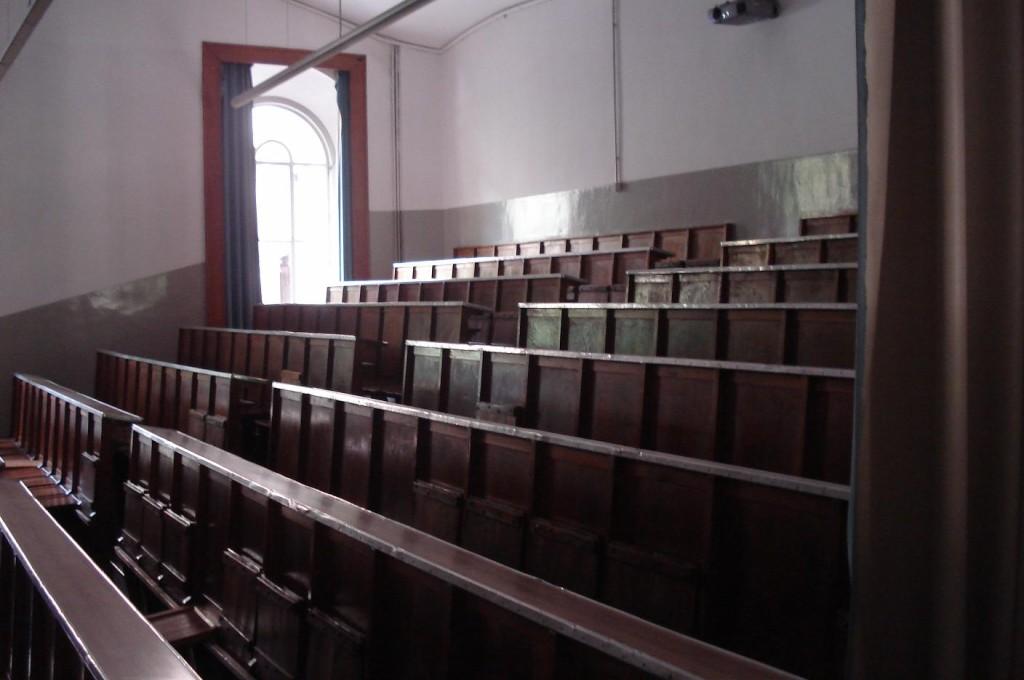El aula 11 de la Facultad de Filología