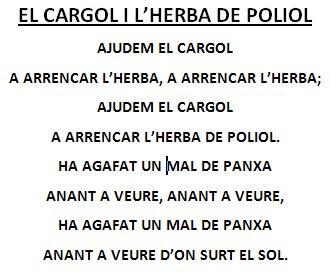 cargol i herba poliol text