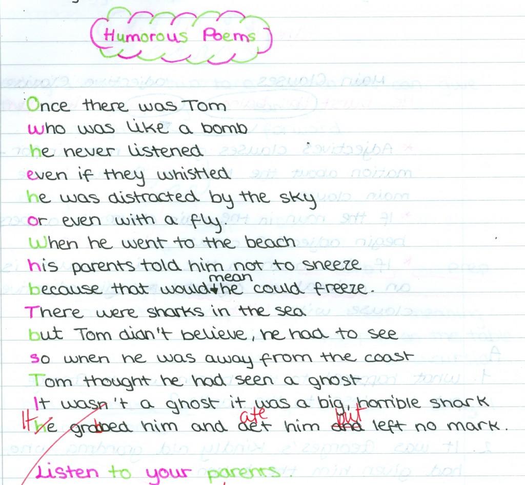 Natalia Humorous poem