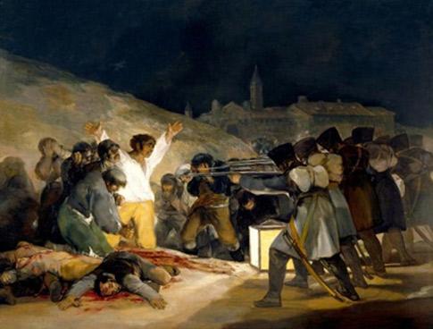 Francisco de Goya (1746-1828) El dos de maig, 1808