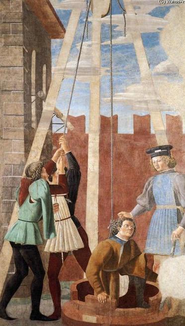 6. La tortura del Judio, 1452 de Piero Della Francesca (1415-1492, Italy) | Reproducciones De Bellas Artes Piero Della Francesca | WahooArt.com