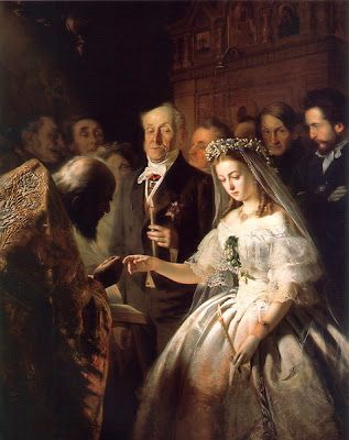 V. Pukirev. Matrimoni desigual, 1863.