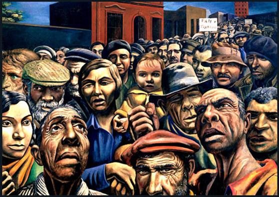 Antonio Berni. Manifestació, 1934