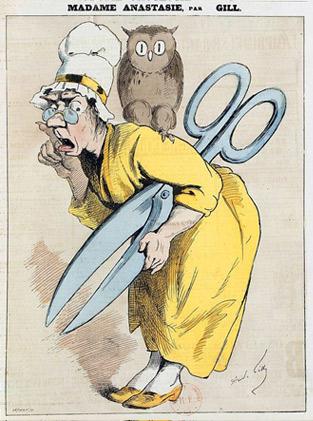 Caricatura del segle XIX