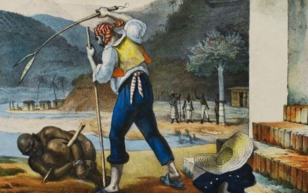 En aquest quadre de Jean-Baptiste Debret es pot veure el maltractament i els castigs soferts pels esclaus al Brasil