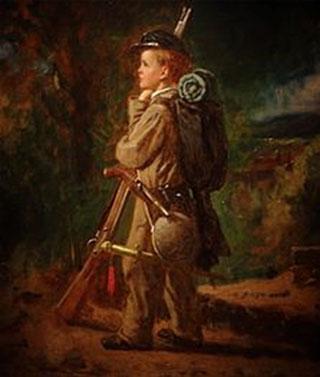 Eastman Johnson. El petit soldat, 1864