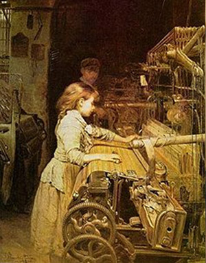Joan Panella. La nena obrera, 1882.