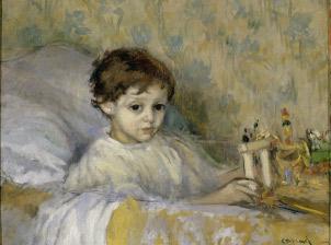 Ricard Canals. Infant malalt, 1903