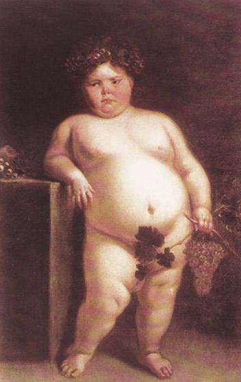J. Carreño de Miranda. La monstrua desnuda, 1680.