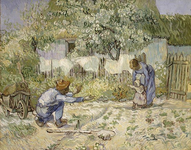 V. Van Gogh. Les primeres passes, 1890.