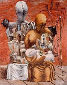 Giorgio de Chirico. La família del pintor, 1926