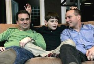Us presento la meva família, en Ramon i en Marcel. Els meus amics diuen que tinc dos pares.