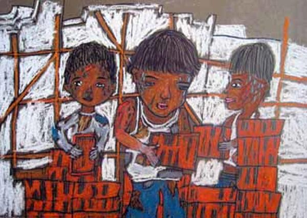 Mahesh (un nen), Infants treballant (2008)