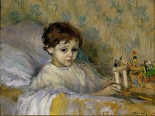 Ricard Canals. El nen malalt, 1903.