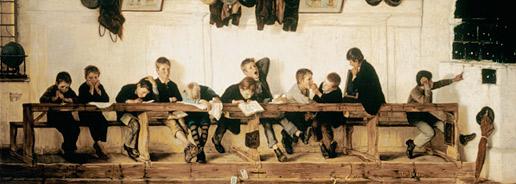 Gustav Igler. L'escola de Eselbank, 1881
