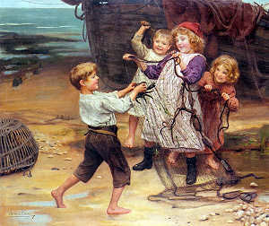 A. J. Esley. La captura del dia, 1902