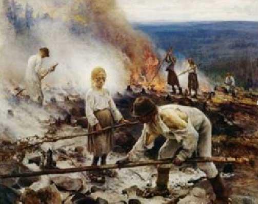 Eero Erik Nikolai Järnefelt. Esclaus assalariats, 1893