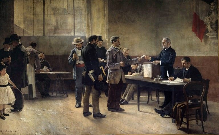 Alfred Bramtot. Sufragi universal, 1891.