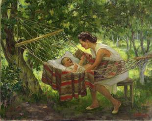 Alexander Lyubimov. Maternitat,