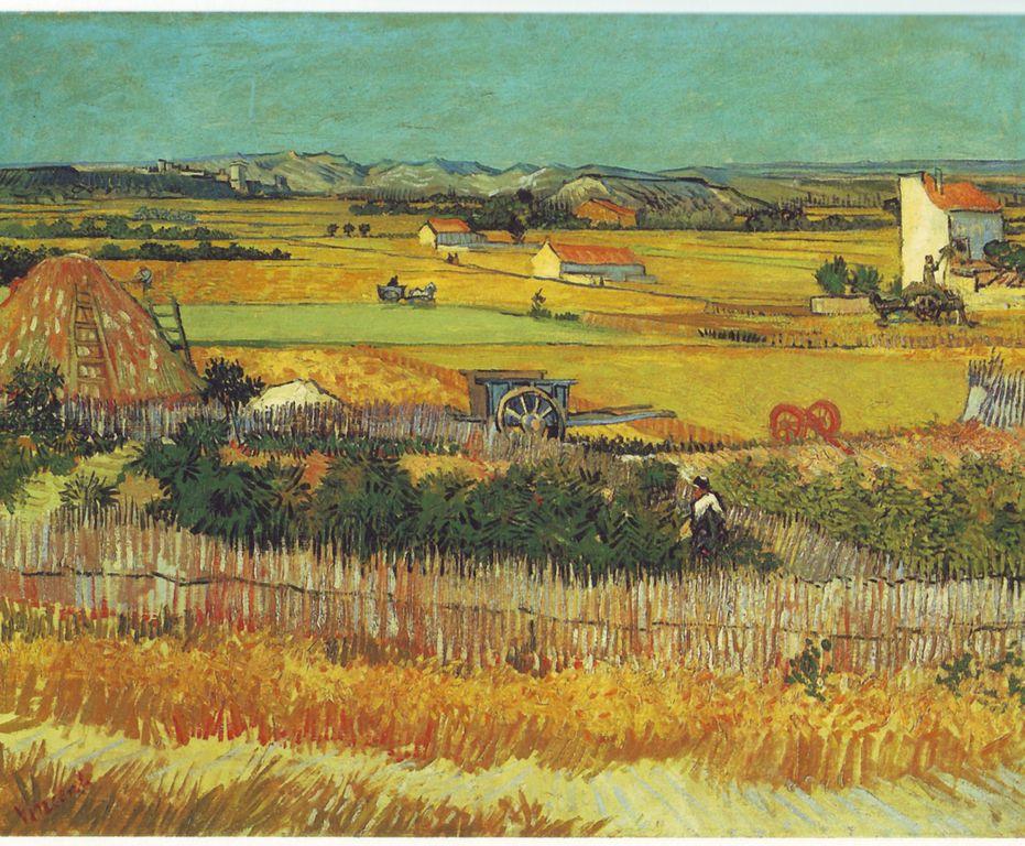 Vincent Van Gogh. La collita,1888.