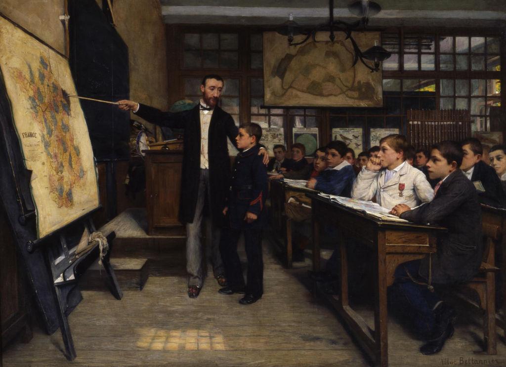 Albert Bettannier. La taca negra, 1887.