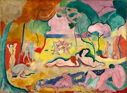 H.Matisse. L'alegria de viure, 1906.