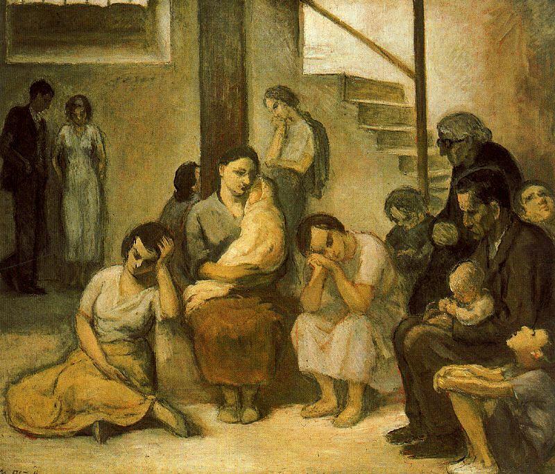 Nicanor Piñole. El refugi, 1937.