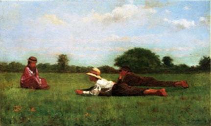Wislow Homer. Encantats, 1874